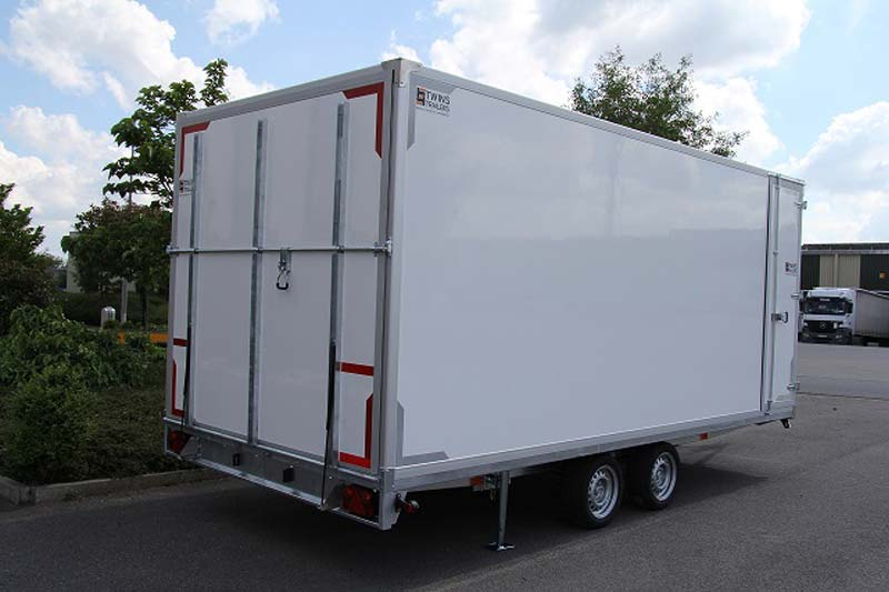 Boxed trailer   Twins Trailers®